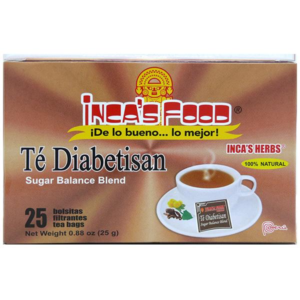 Inca's Herbs Sugar Balance Blend Tea 25Pk 0.88oz