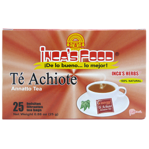 Inca's Herbs Annatto Tea 25Pk 0.88oz