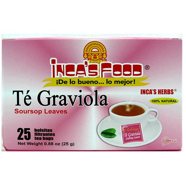 Inca's Herbs Soursop Leaves Tea 25Pk 0.88oz
