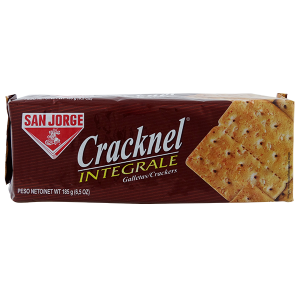 San Jorge Cracknel Whole Wheat Crackers 6.5oz