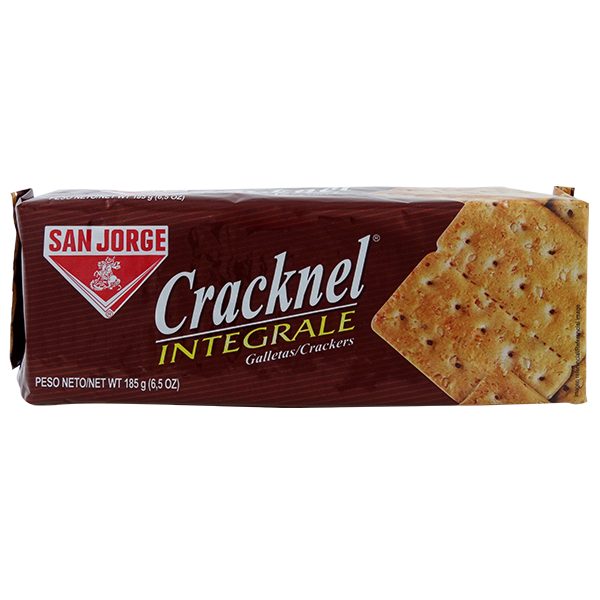 San Jorge Cracknel Whole Wheat Crackers 6.5oz