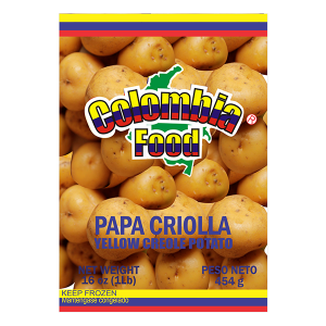 Colombia Food Frozen Yellow Creole Potato 16oz