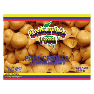 Colombia Food Frozen Yellow Creole Potato 32oz