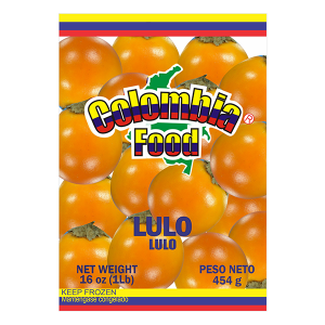 Colombia Food Whole Frozen Lulo Fruit 16oz