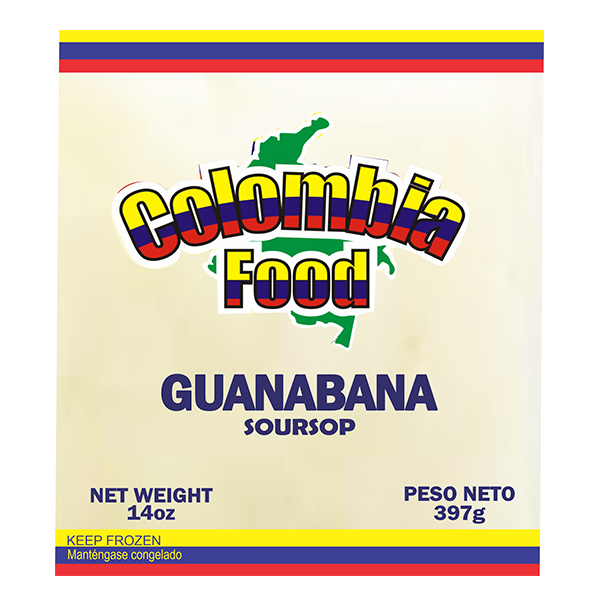 Colombia Food Soursop Pulp 14oz