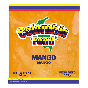 Colombia Food Mango Pulp 14oz