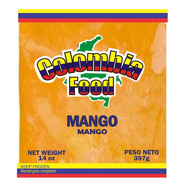 Colombia Food Mango Pulp 14oz