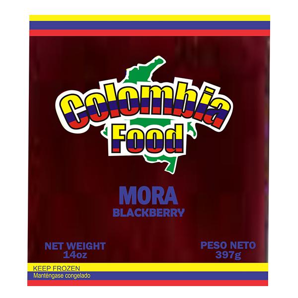 Colombia Food Blackberry Pulp 14oz