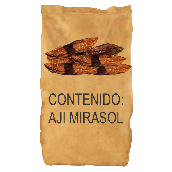 Inca's Food Dried Hot Pepper Mirasol 10Lb