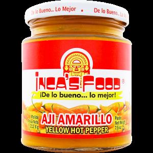 Inca's Food Yellow Hot Pepper Paste 7.5oz