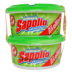 Sapolio Dishwashing Cream - Apple 2Pk