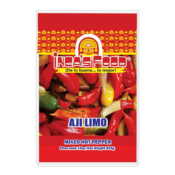 Inca's Food Mixed Hot Pepper 15oz