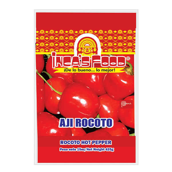 Inca's Food Rocoto Hot Pepper 15oz