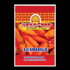 Inca's Food Yellow Hot Pepper 15oz