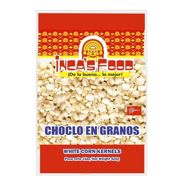 Inca's Food White Corn Kernels 15oz