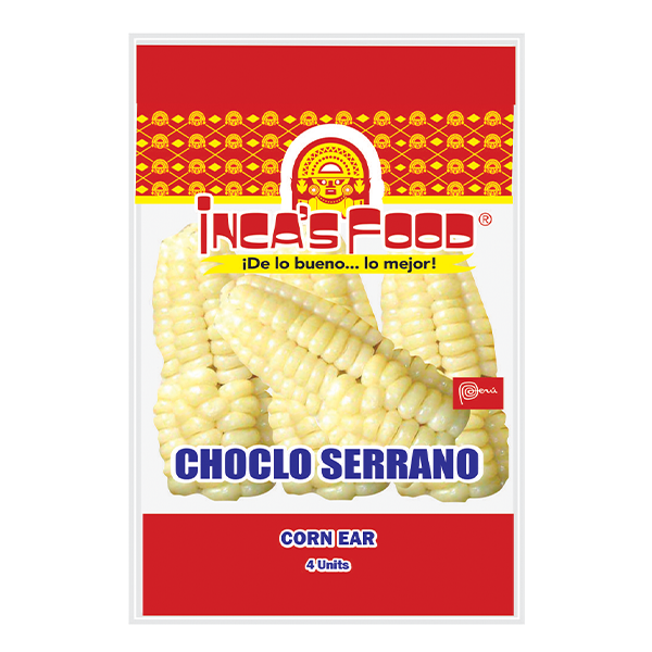 Inca's Food Corn Ear 4Ct