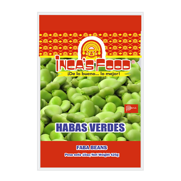 Inca's Food Fava Beans 15oz