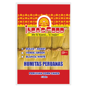 Inca's Food Humita - Sweet Corn Patty 4Pk