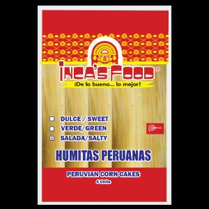 Inca's Food Humita - Corn Patty with Cheese 4Pk