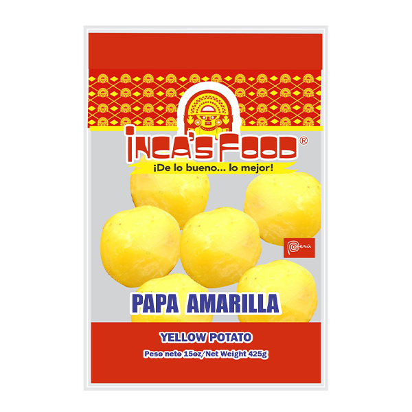 Inca's Food Yellow Potato 15oz