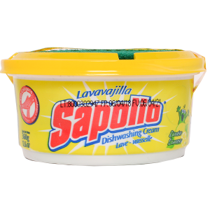 Sapolio Dishwashing Cream - Lemon 12.6oz