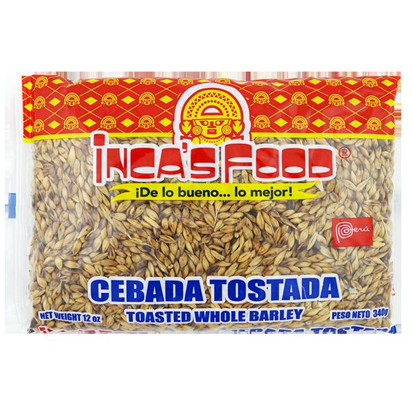Inca's Food Toasted Whole Barley 12oz