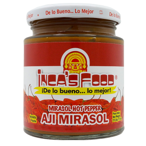 Inca's Food Mirasol Hot Pepper Paste 7.5oz