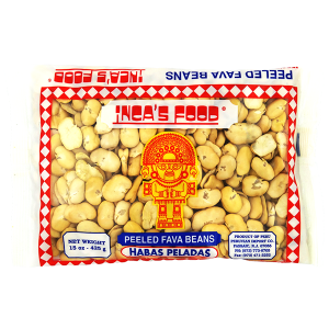 Inca's Food Peeled Fava Beans 15oz