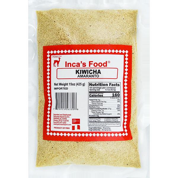 Inca's Food Kiwicha 15oz