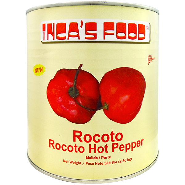 Inca's Food Rocoto Hot Pepper in Brine 5Lb