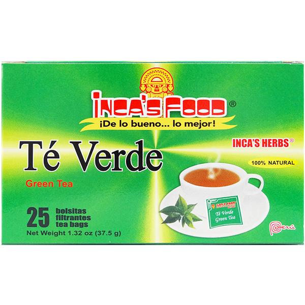 Inca's Herbs Green Tea 25Pk 1.32oz