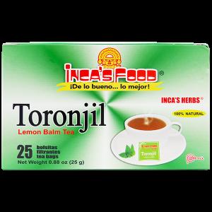 Inca's Herbs Lemon Balm Tea 25Pk .88oz