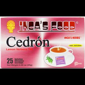Inca's Food Lemon Verbena Tea25Pk .88oz