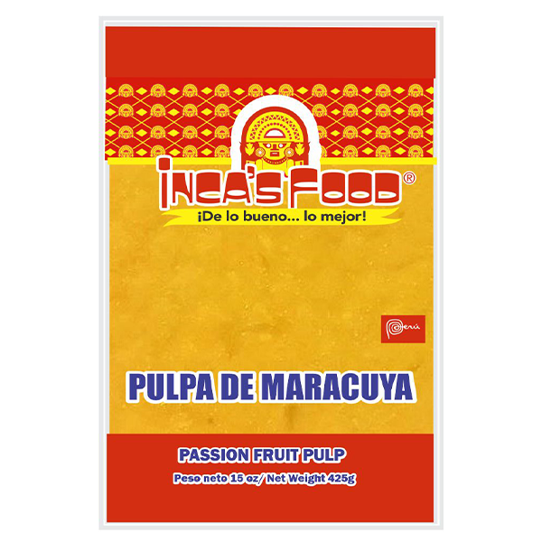 Inca's Food Passion Fruit Pulp - Seedless 15oz