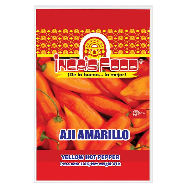 Inca's Food Yellow Hot Pepper 4Lb