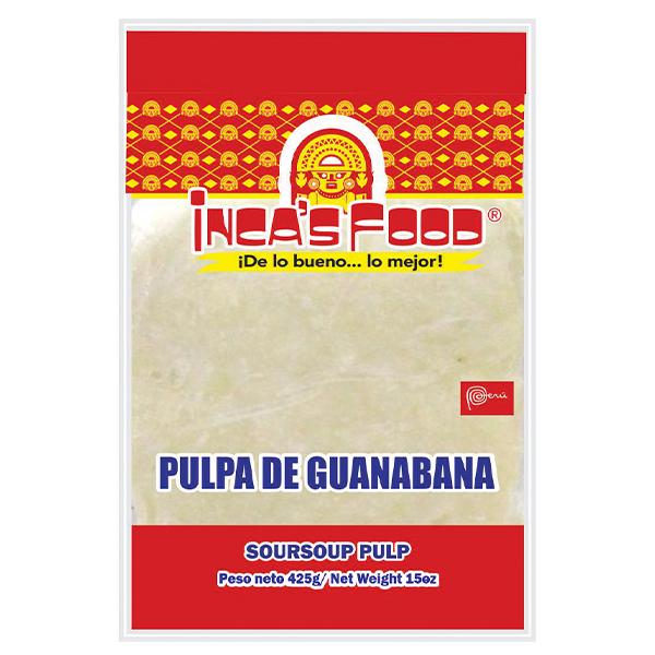 Inca's Food Sour Sop Pulp 15oz