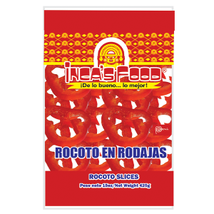 Inca's Food Rocoto Hot Pepper Slices 15oz