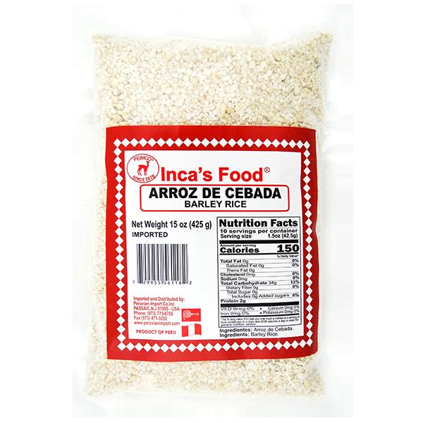 Inca's Food Barley Rice 15oz