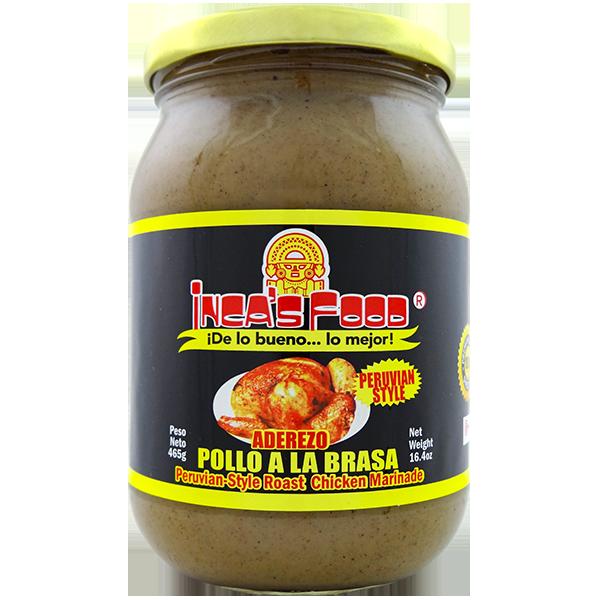 Inca's Food Roast Chicken Marinade Special - Peruvian Style 16.4oz