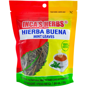 Inca's Herbs Mint Leaves 1.06oz