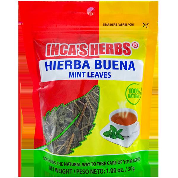 Inca's Herbs Mint Leaves 1.06oz