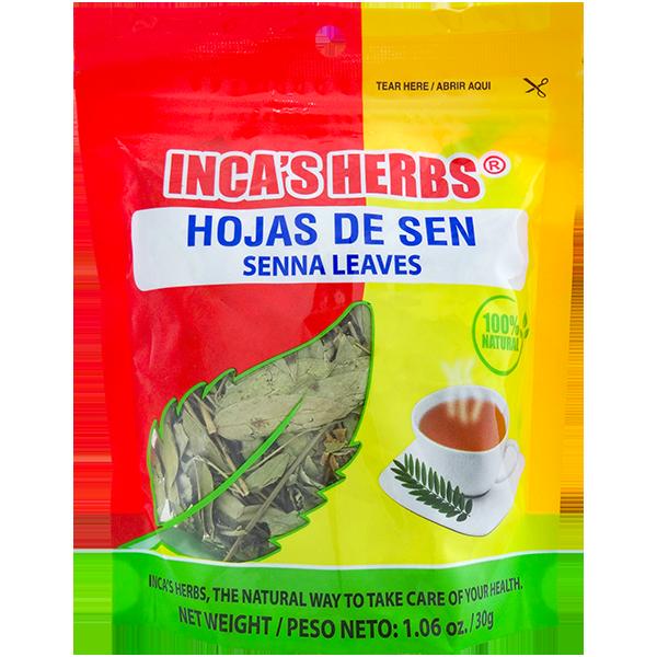 Inca's Herbs Senna Leaves 1.06oz