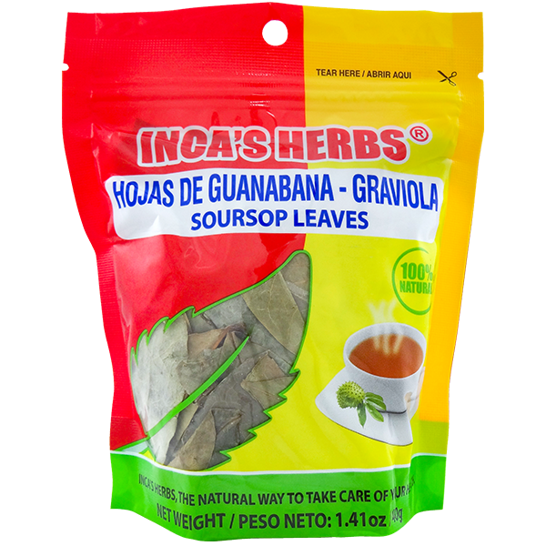 Inca's Herbs Soursop Leaves 1.41oz