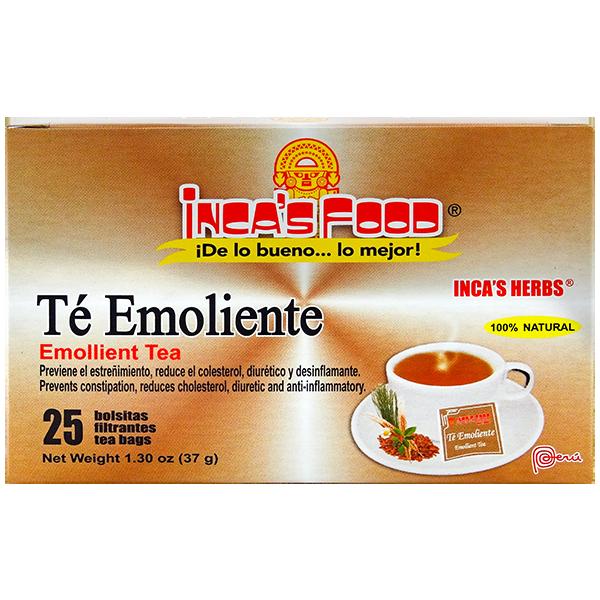 Inca's Herbs Emollient Tea 25Pk 1.30oz