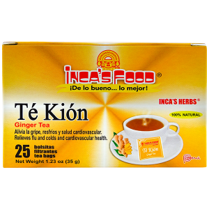 Inca's Herbs Ginger Tea 25Pk 1.23oz