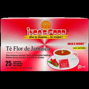 Inca's Herbs Jamaica Flower Tea 25Pk 1.23oz