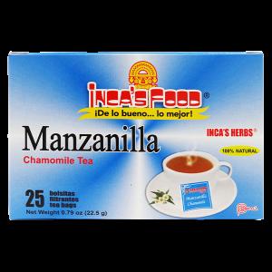 Inca's Herbs Chamomile Tea 25Pk .79oz
