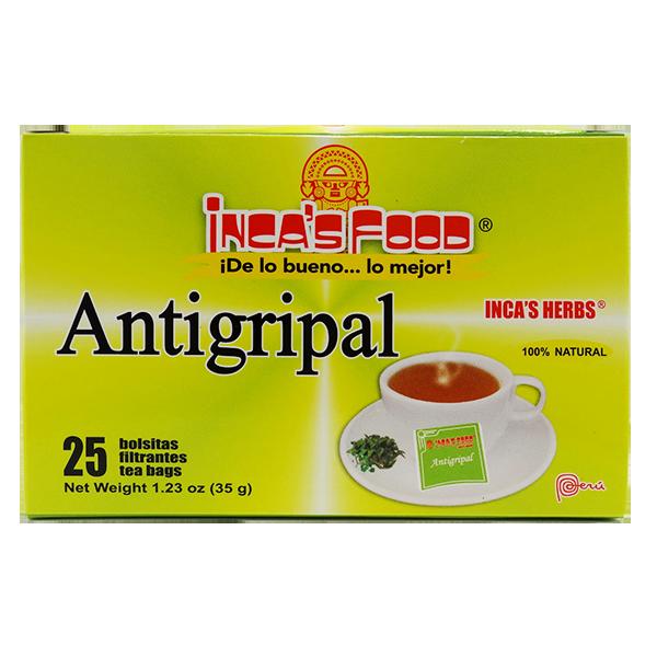 Inca's Herbs Antigripal Tea 25Pk 1.23oz