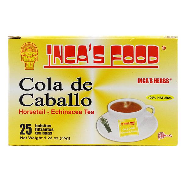 Inca's Herbs Horsetail Echinacea Tea 25Pk 1.23oz