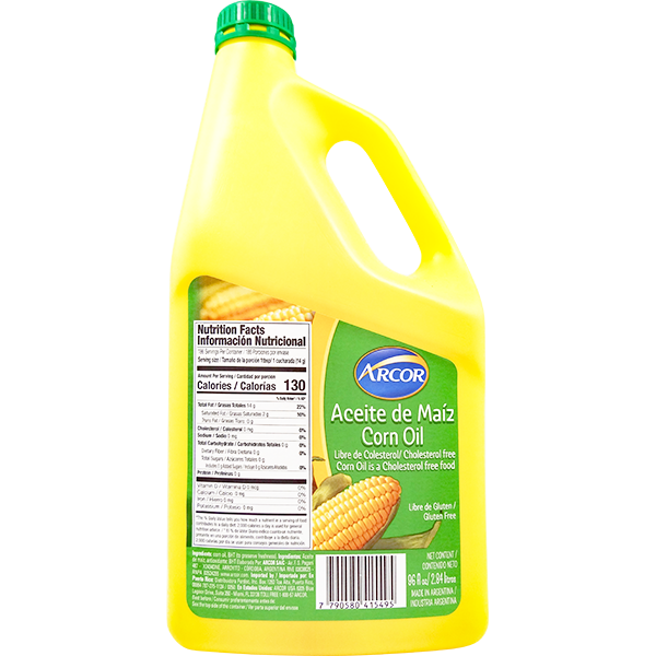 Arcor Corn Oil 96floz